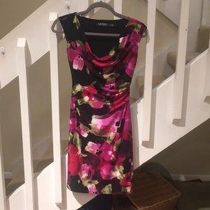 Beautiful Ralph Lauren floral dress